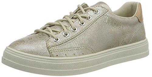 ESPRIT Damen Sidney Lace up Sneaker, Beige (241 Taupe), 39 EU