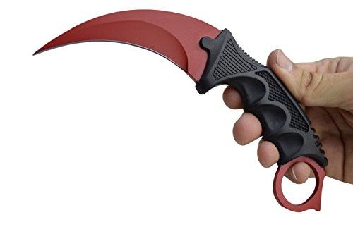 Innoverse CSGO Doppler Karambit Hawkbill Full Tang Neck Knife