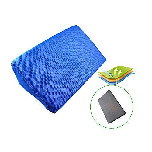 Almohada para piernas elevada de la cuña de la cama, para elevar las piernas, mejorar la circulación, reducir el dolor de espalda, recuperación