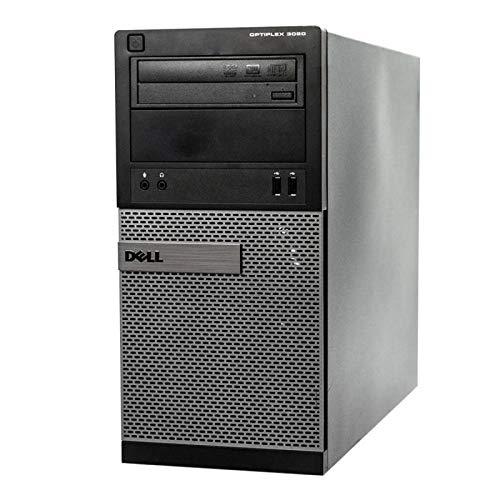 Dell - Torre OptiPlex 3020 (Intel G3220, RAM de 4 GB, disco duro de 250 GB, Windows XP (reacondicionado)