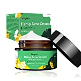 Hemp Acne Cream, Anti Acne Treatment Moisturizer, Intensive Acne Removal and Skin Rejuvenation, for Reduction in Scars, Spots, Pimple, Organic Acne Treatment Cream for Sensitive Skin of Teen & Adult