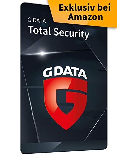 G DATA Total Security 2020 | 1 Gerät - 1 Jahr, Code, frustfreie Verpackung | Antivirus für Windows, Mac, Android, iOS | Made in Germany