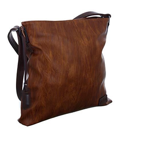 Rieker Damen Handtasche H1033, Braun (nuss-antik/kastanie), 280x50x300 cm
