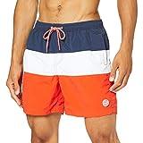 Springfield FRQ Bañador Cut Sew Nylon-c/67 (Multicolor 59705867), 40 (Tamaño del fabricante: L) para Hombre