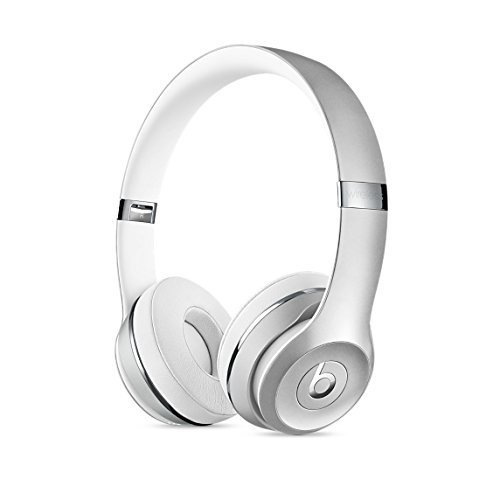Beats by Dr. Dre Beats Solo3 Wireless On-Ear Headphones - Silver (Renewed)