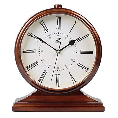 JIAJIA Retro Europees polshorloge met Amerikaanse slinger, creatief uurwerk, decoratieve klok 10 pollici Caffè B