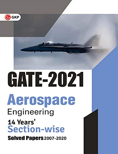 GATE Aerospace Engineering 14 Years Section-wise Solved Paper 2007-20