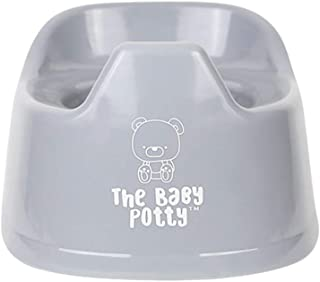 Mini Potty for Early Potty Training | Elimination Communication | Portable and Lightweight Design | Promotes Full Potty Independence | EC Child Potty Training Toilet (Grey)