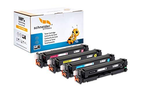 4 Schneider Printware Toner | 35prozent höhere Reichweite | kompatibel für HP 305A für HP Laserjet M351A Pro 300 M351a M375nw 400 M451 DN dw nw Pro 400 M475dn M475dw