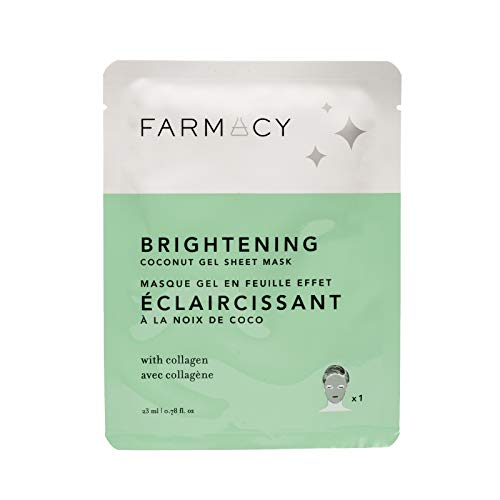 Farmacy Hydrating Coconut Gel Mask – Brightening (Purple Broccoli)