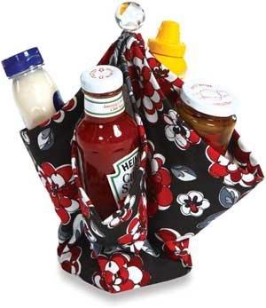 Picnic Plus Decka Portable Utensil, Condiment Caddy