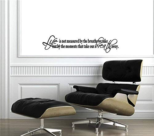 Kreative Wohnzimmer Schlafzimmer kann nicht modernen Flatismus Wohnwand entfernbare Wandmalerei 58x82cm messen
