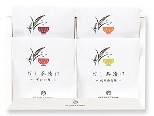 海鮮だし茶漬けセットK×1箱【北海道産真昆布と静岡県産抹茶使用】【結婚式 引出物 内祝い お茶漬けギフト インスタント レトルト 引菓子】