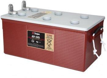 Trojan 8D-Gel 12V, 225AH (20HR) Gel Battery