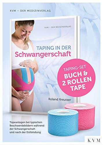 Taping in der Schwangerschaft: Set Buch plus 2 Rollen Tape