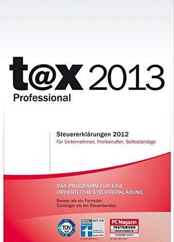 Preisvergleich Produktbild t@x 2013 Professional (für Steuerjahr 2012)