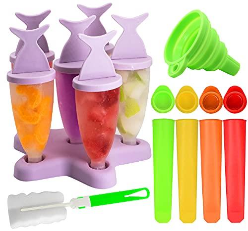 Reutilizable Popsicle Moldes, 8 Fabricantes