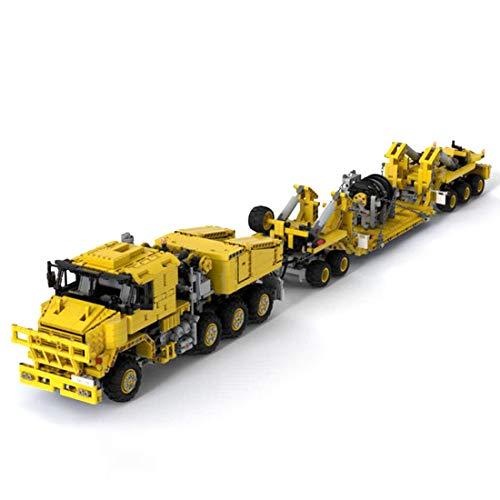 Seasy Technik Ferngesteuert LKW, Technik Truck Modell mit Fernbedienung und Motoren, 2730 Teile, Kompatibel mit Lego