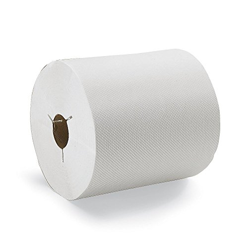 6 Rolls x 630 ft Tork Universal Hand Towel Roll H80 100/% Recycled Basic Quality Natural 1-Ply Economic Paper Hand Towel 8031500
