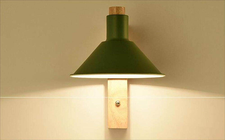 MOOMDDY Wandleuchte, Augenschutzschreibtischlampe Student, Schlafzimmer-Nachttischlampe, dekorative Beleuchtung im Flur für den Flur,Grün