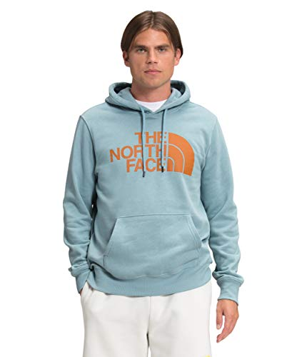 The North Face Men's Half Dome Pullover Hoodie - Hoodies for Men, Tourmaline Blue, L