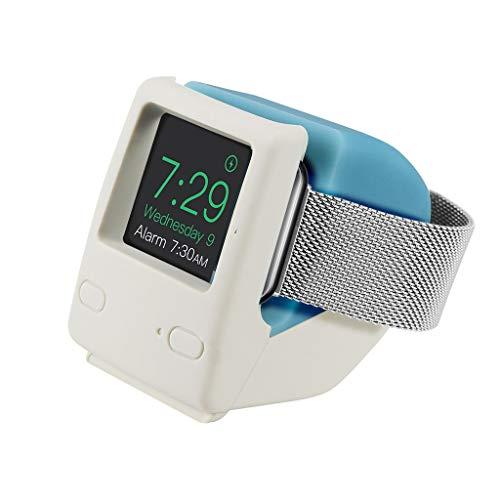 OKwife Universal Silicona Retro Reloj Cargador Soporte de Carga Soporte de estación de Acoplamiento Montaje para Apple Watch Series 4/3/2/1