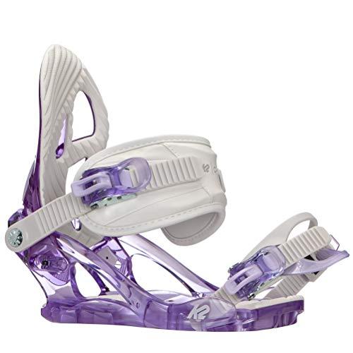 K2 Damen Charm Snowboardbindung, Lilac, M