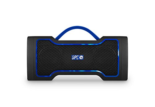 SPC Razz Speaker - Altavoz portátil con Radio, Color Negro