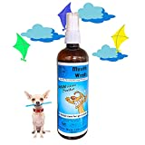LuckyCharm Dog Mouth Wash | Oral Care Water Additive for Pets | Eliminate Bad Dog Breath | Naturally Fights Plaque, Tartar & Gum Disease Without Brushing | Just Add 3-4 Sprays to Water | Digestive Aid - 200ml
