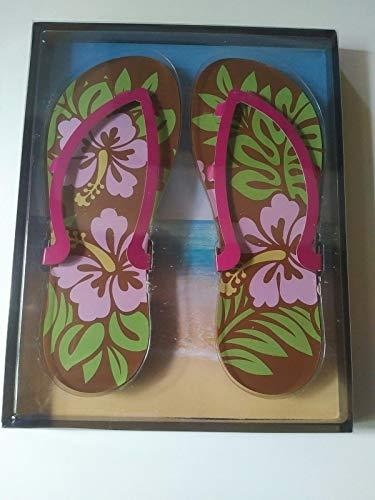 Weibler Confiserie Geschenkpackung Flip Flops Hawaii Schokolade 200 g