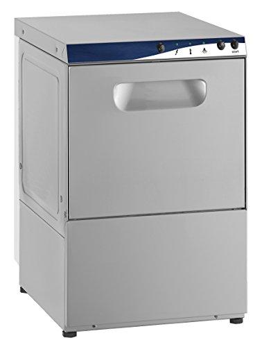 Gläserspülmaschine Gläser Spülmaschine 40 inkl. Pumpe für Glanzmittel, Reiniger & Laugenablauf 230 V