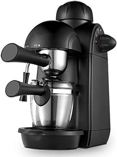AJH Espressomaschine mit Milchschäumarm 5-bar-Druckpumpe, 730W Kaffeemaschine 240 ml, Espressomaschine