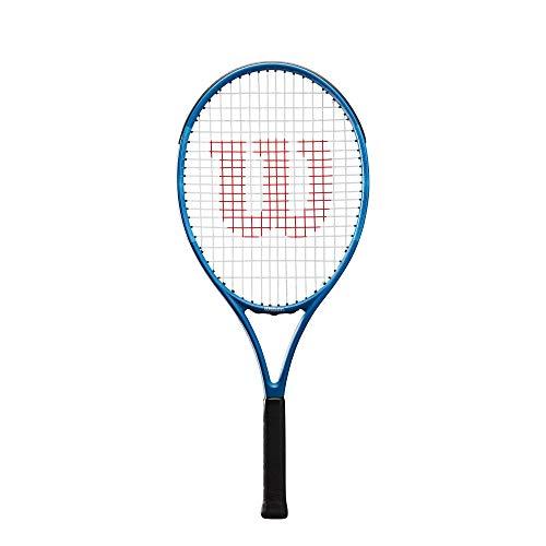 Wilson Tennisschläger Ultra Team 25, für Kinder im Alter von 9 -10 Jahre, AirLite-Legierung, blau, WR027410U