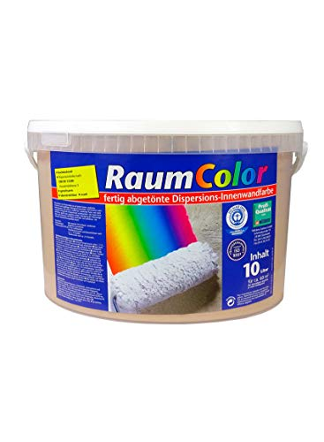 Raumcolor getönt Cappuccino 10 Liter ca. 60 m² Innenfarbe Wandfarbe Wilckens Trendfarbe hochdeckend