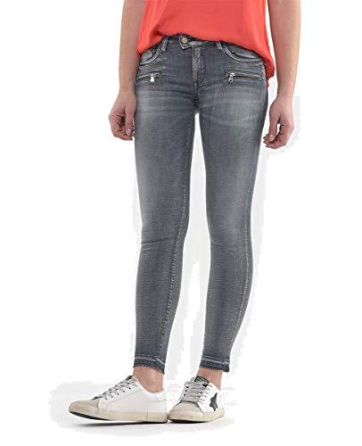 Le Temps des Cerises Damen Jeans PULPC CALAO grau 31