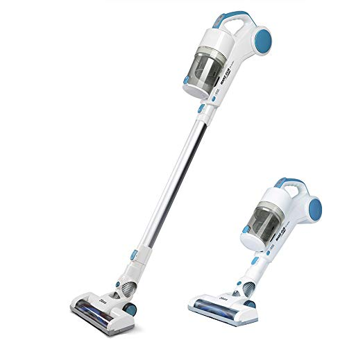 Best Review Of New Handy Cordless Vacuum Cleaner with Cyclonic Technology Light Weight 2-in-1 Stick ...