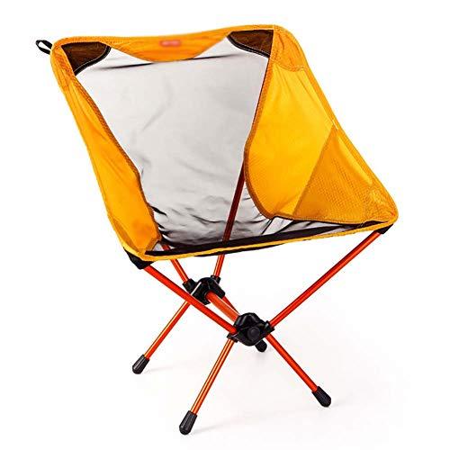 ZJING Chaise Pliante d'extérieur 7075 Aviation, Aluminium, Camping, Chaise Simple et Ultra-Portable