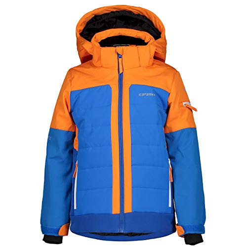 Icepeak Jungen Skijacken. Gr. 140 cm, Orange