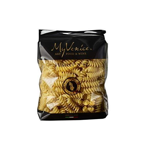 MyVenice Fusilli n°93, Pasta di Grano Duro 100% italiano - 16 pacchi da 500g