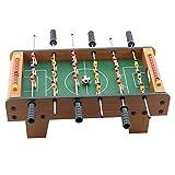 Zhengowen TO Kickertisch Foosball Tabelle Wettbewerb Spiele Sportspiele for Erwachsene und Kinder Compact Mini Tabletop Fussball Spiel Tischkicker-Set (Farbe, Size : 50x25x15.5cm)