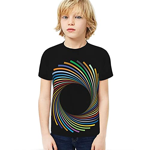 Popsastaresa Camera Youth Camiseta de cuello redondo