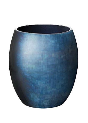 Stelton Stockholm Ø 203, Gross-Horizon Vase, Aluminium, 25.5 x 25.5 x 26 cm
