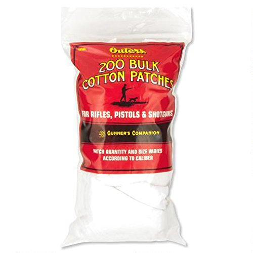 Outers 42380 All Sizes Cotton Bulk Bagged Patches (200 Count)