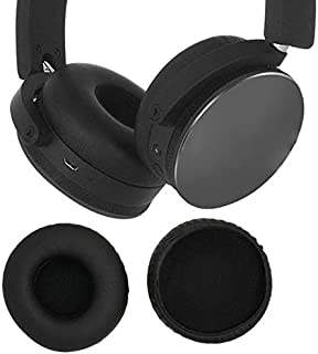 Ear Pads, Faux Leather Ear Pads Headphone Soft Foam Earpads Cover for AKG Y50 Y55 Y50BT Headset 1Pair