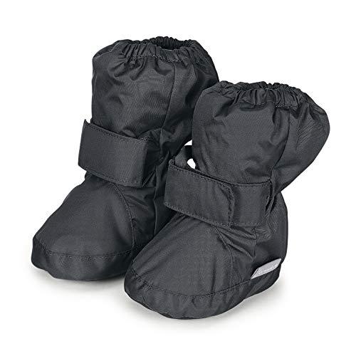 Sterntaler Jungen Baby Stiefel mit Klettverschluss, Farbe: Eisengrau, Größe: 19/20, Alter: 12-18 Monate, Artikel-Nr.: 5101510