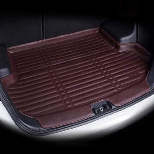 LYXDZW Tronco Vassoio Mat Fit for Volkswagen VW Golf 7 GTI R Mk7 Hatchback Hatch 2013-2018 Tappeto Bagagliaio FF (Color : Coffe)