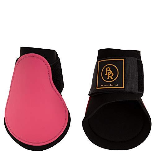 BR Streichkappen Event Klettverschluss Nicht elastisch (Pony, Raspberry Pink)