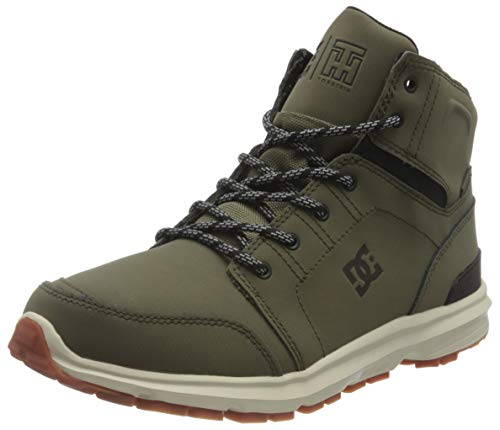 DC Shoes Torstein, Zapatillas Hombre, Black/Forest Green, 40.5 EU