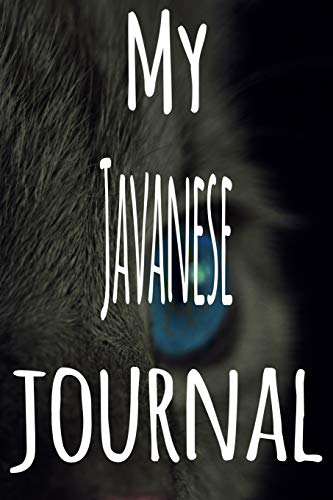 My Javanese Journal: The perfect gift for the lover of cats...