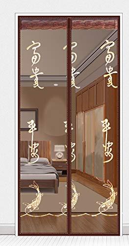 Sommer Insekt/Insekt/fliegende Moskitonetz Tür Klettvorhang Sommer magnetische Adsorption Verschlüsselung Mesh Screen Tür A4 B90xH210
